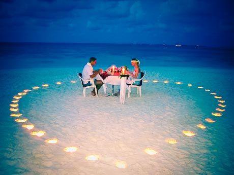 OMG! Kapan bisa Makan bareng di pantai dengan suasana indah pada sore hari? My dream with my beloved{} #PasanganSehati