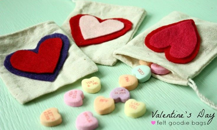 Easy DIY Valentine Goodie Bags: You'll love this cute and simple kids' craft for Valentine's Day