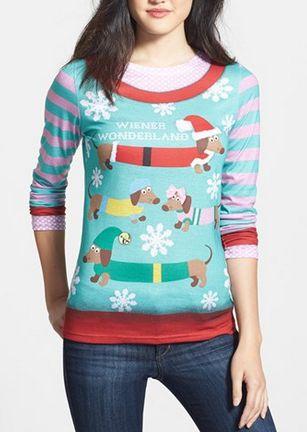Wiener Wonderland -Christmas Sweater!