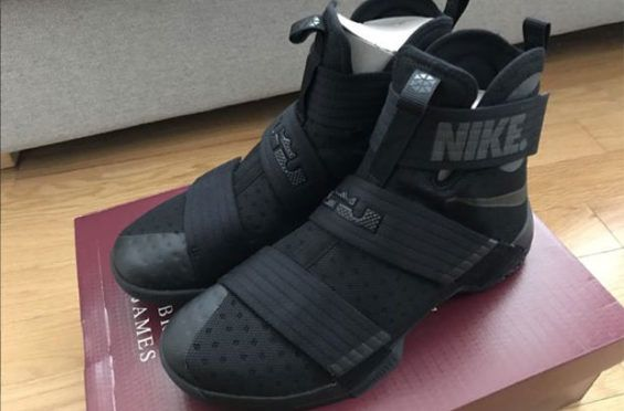 This Extremely Limited Nike LeBron Zoom Soldier 10 Only Released In New York