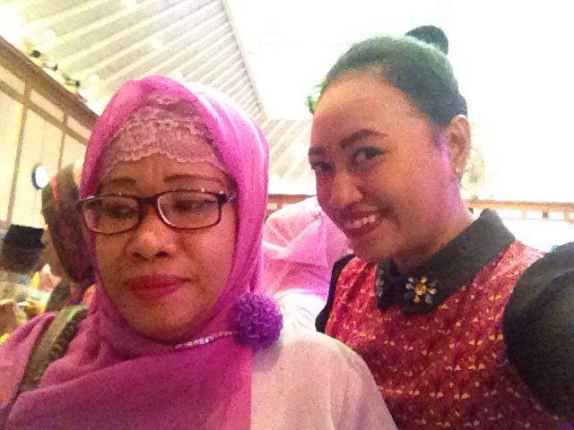 With my greatest Ibu