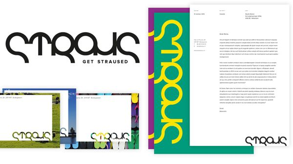 Get straused | Identity for Straus Interim Management | by Studio Klaster