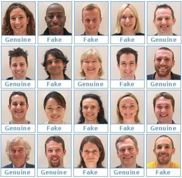 Genuine smiles or fake one: http://www.bbc.co.uk/science/humanbody/mind/surveys/smiles/