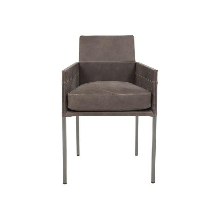 Jetzt bei Desigano.com TEXAS exclusiv Armlehntuhl mit Flockenkissen bombiert Sitzmöbel, Stühle, Sessel von KFF ab Euro 445,00 € WER SITZT, DER BLEIBT Durch sein komfortables Sitzkissen ist TEXAS exclusiv an Bequemlichkeit kaum zu überbieten. Kontrastnähte und eine hochwertige Polsterung verleihen ihm seinen typischen Look. TEXAS exclusiv passt immer und überall, das macht ihn weltweit zum erfolgreichsten KFF Modell. Sein Vierfußgestell besteht aus einem quadratischen Stahlrohr, seine Sitz…