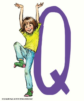 R is for RAMONA QUIMBY - do whole alphabet and hang on wire