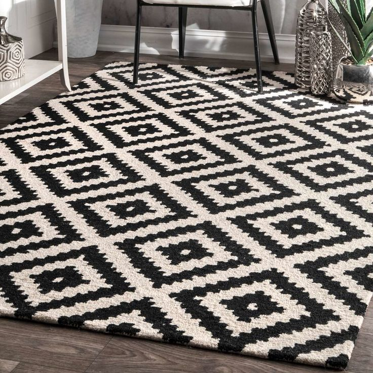 Obadiah Hand Tufted Wool Area Rug Decorative In 2019