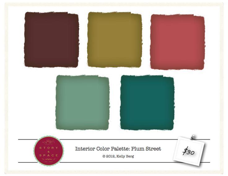 Victorian Color Schemes Interior 23 best color palettes images on pinterest | interior colors