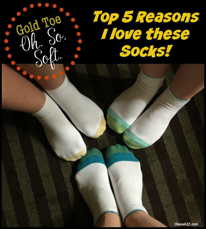 MY FAV!!!  Top Five Reasons I Love Gold Toe Socks - AD OhSoSoft iSaveA2Z.com