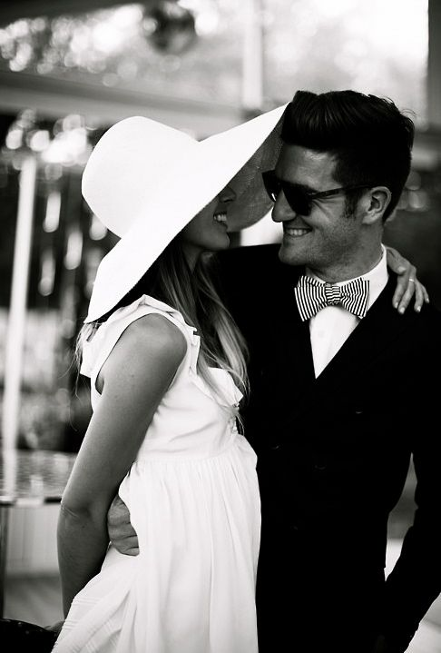 Classic southern couple! This will be my husband and me one day!