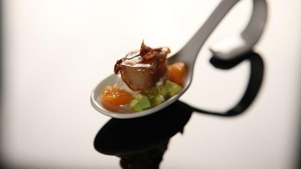 Jakobsmuscheln im Kartoffelmantel  - The Taste - Sat.1