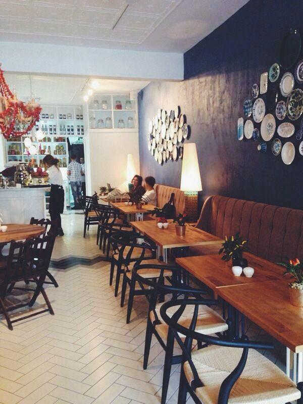 Naif Restaurant, interior design by Lunapark