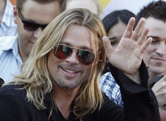 Brad Pitt has a hair cut! No longer looks like a majestic lion!   Moviepilot: New Stories for Upcoming Movies