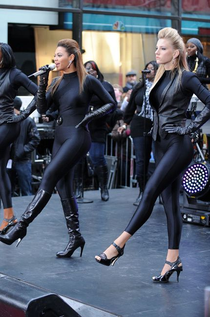 Who doesn't love Beyonce' and Heather Morris?