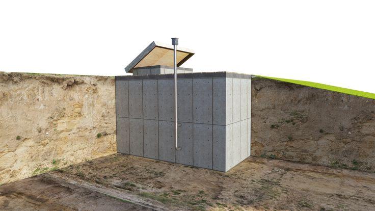 Bomb Fallout Shelter Plans DIY Underground Survival Bunker