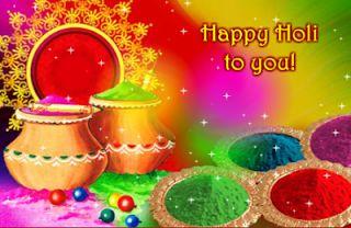 Happy Holi 2013 Wishes Greeting Cards, 2013 Holi Wishes Cards