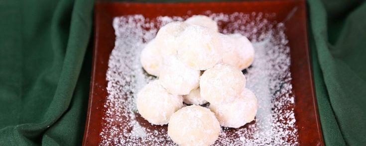 Carla Hall's Marcona Wedding Cookies Recipe   The Chew - ABC.com