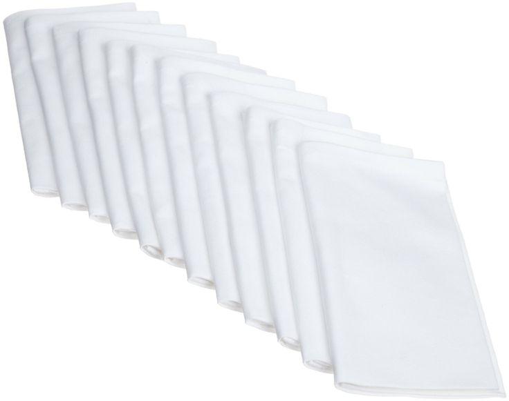 amazoncom dii restaurant quality napkin set of 12 cloth napkins