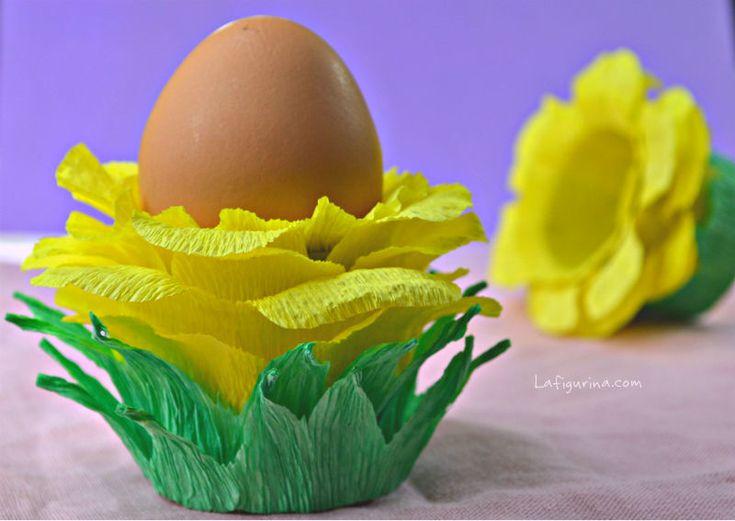 Fiore porta uovo