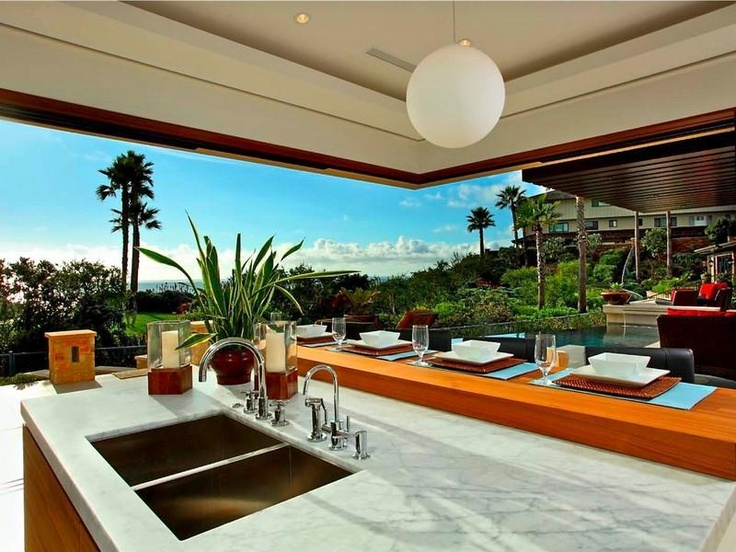 ocean view kitchens | Oceanfront Montage Residence – $32,500,000