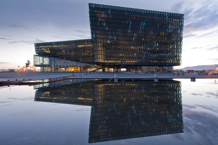 Architecture + Light Jury Winner: Harpa - Reykjavik Concert Hall and Conference Center by Henning Larsen Architects in Reykjavik, Iceland