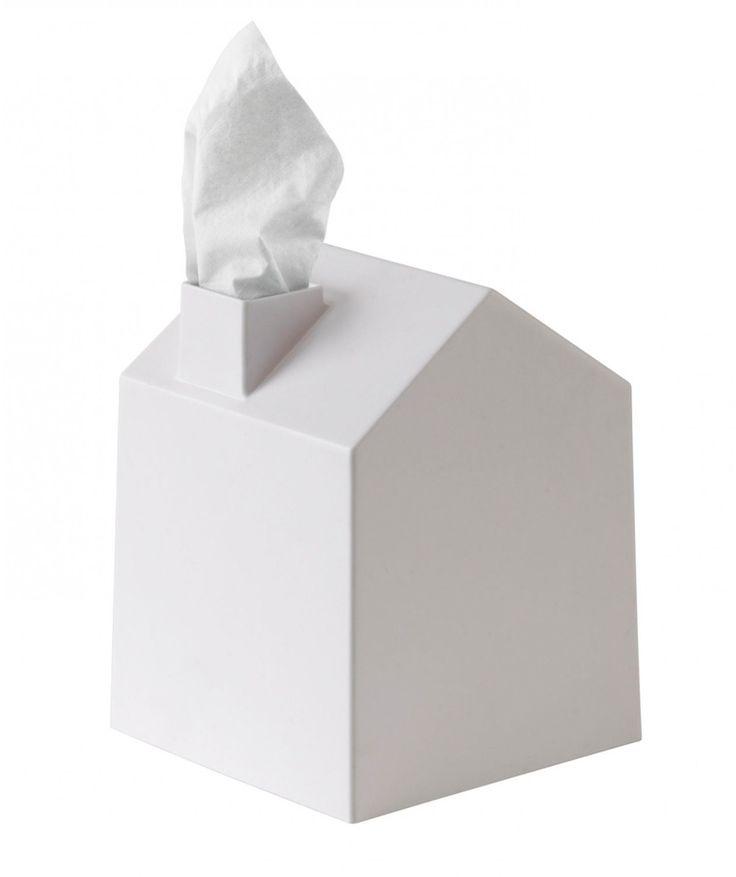 Casa color Blanco - Caja para pañuelos, dispensador de pañuelos. $19.900 COP. Cómpralo aquí--> https://www.dekosas.com/productos/umbra-casa-white-caja-para-panuelos-detalle