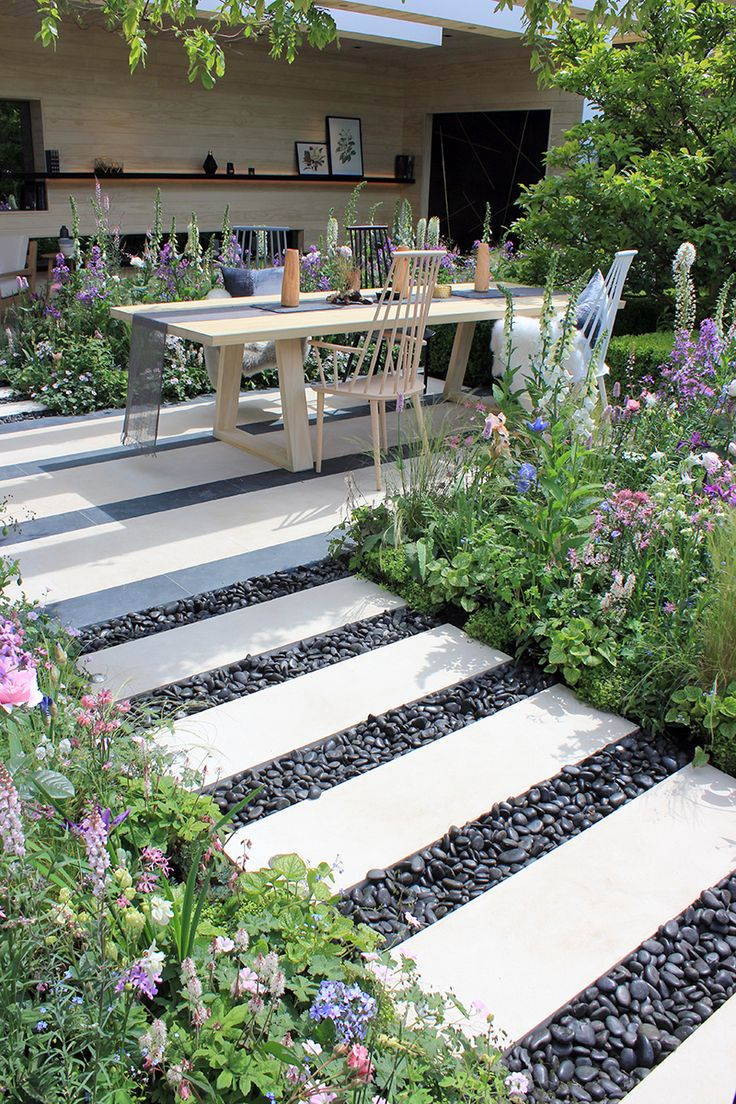 Garden: The LG Smart Garden Materials: Weathered Limestone Rockery and  Crushed White Marble Aggregate