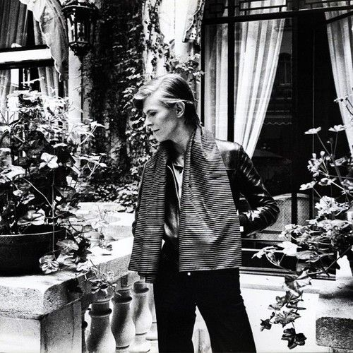 David Bowie in Berlin (1977) for the 'Low' album