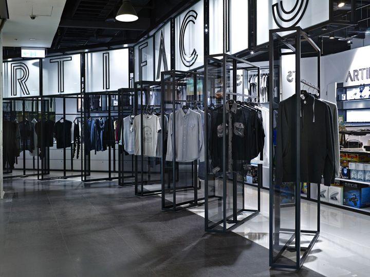 Artifacts Nanshi store by Straight Square Design, Taipei » Retail Design Blog