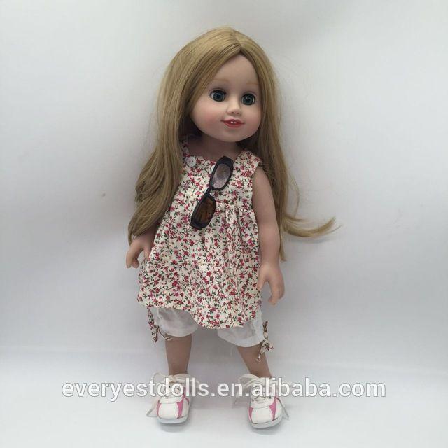"Hoge kwaliteit 18 inch poppenkleertjes groothandel poppenkleertjes 18 ""blauw jurk Hoge kwaliteit 18 inch pop kleding-inspeelgoed accessoires van Hobby& speelgoed op m.dutch.alibaba.com."