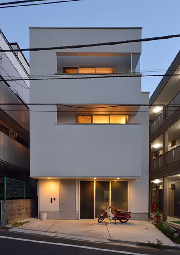 キャンバスの家(東京都板橋区)   注文住宅・デザイン住宅・狭小住宅の建築設計事務所フリーダム