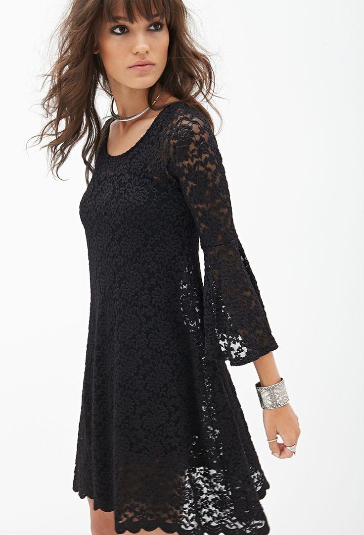Cutout Floral Lace Dress #SummerForever