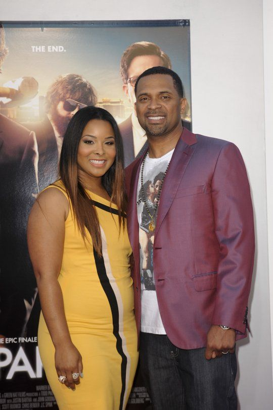 Mike Epps and wife