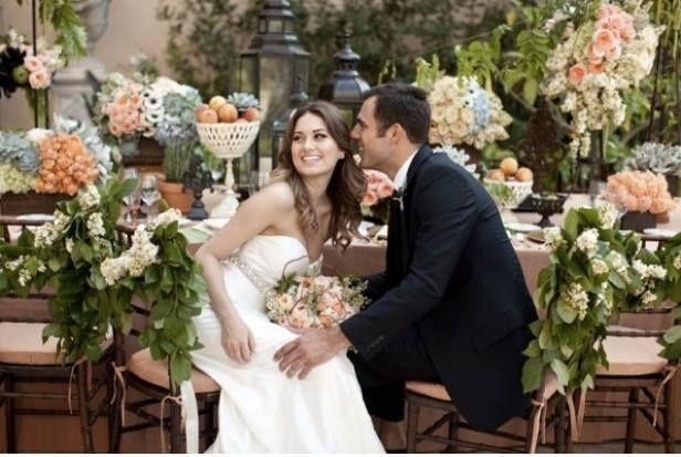 Felici nel giorno del matrimonio