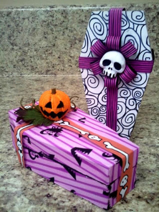 Nightmare Before Christmas Gift Wrapping Ideas