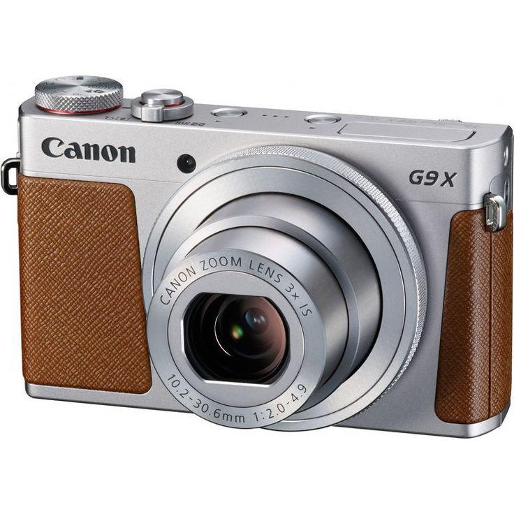Canon PowerShot G9 X Camera (Silver)