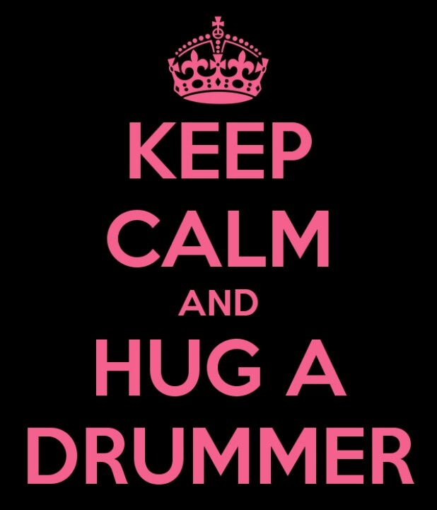 Love this :) I hug my lil drummer girl every day ♡