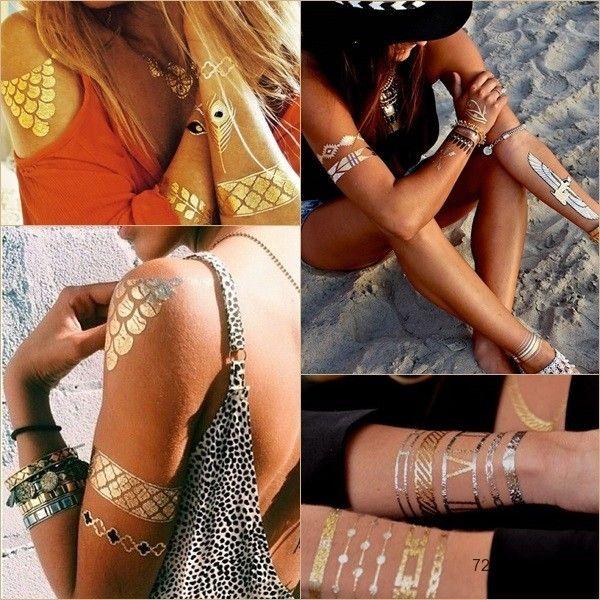 Arany tetoválás - wildlife - HobbyRendelés webáruház