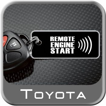 2009-2016 Toyota Venza Remote Engine Starter Kit Harness & Hood Switch Genuine Toyota #PT398-0T095