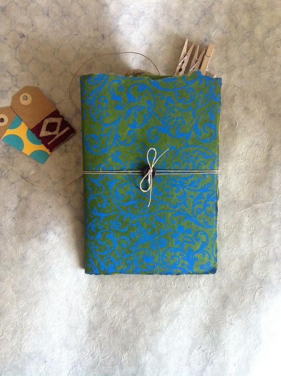 Quaderno fatto a mano Arabesque  Handmade Notebook  di PetiLab