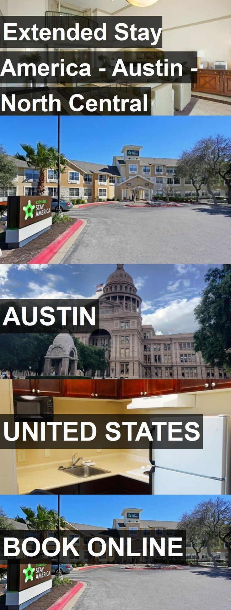 Hotel Extended Stay America - Austin - North Central in Austin, United States. For more information, photos, reviews and best prices please follow the link. #UnitedStates #Austin #hotel #travel #vacation
