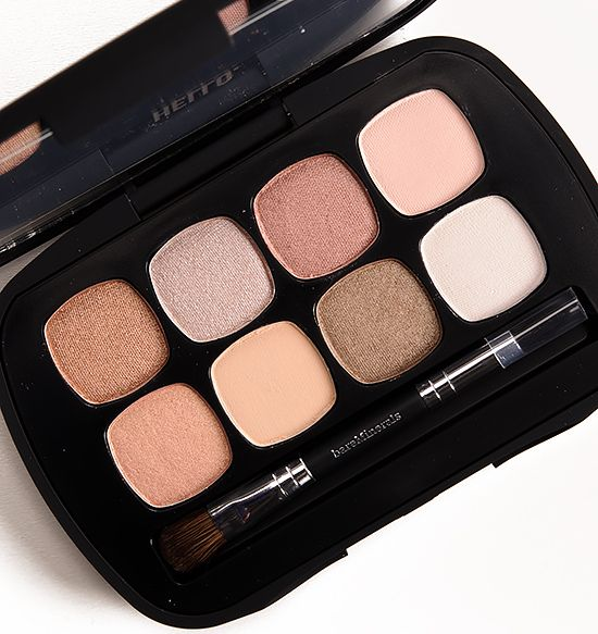 bareMinerals The Nude Beach Eyeshadow Palette Beautiful neutral palette