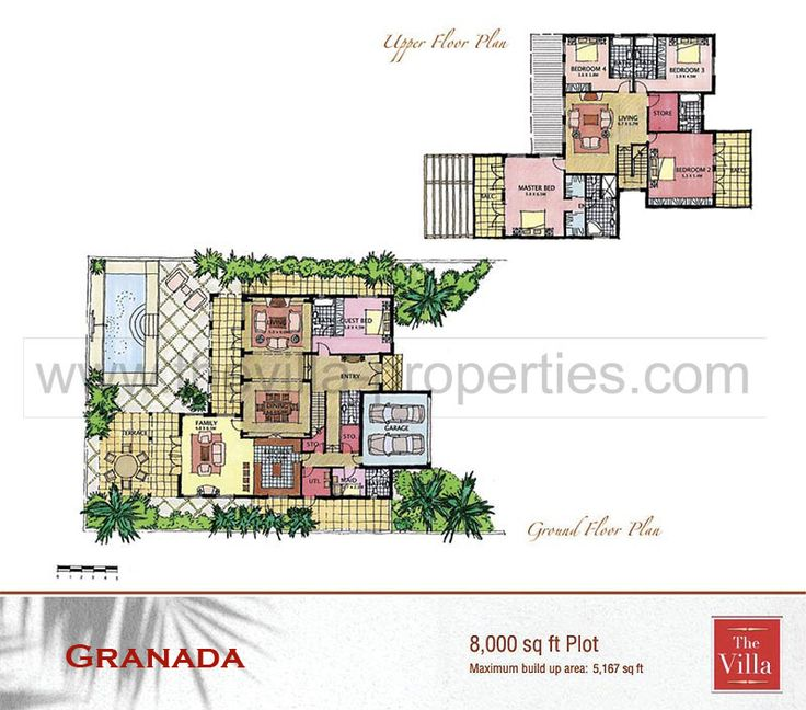 64 Best Floor Plans Images On Pinterest Mansions Villa