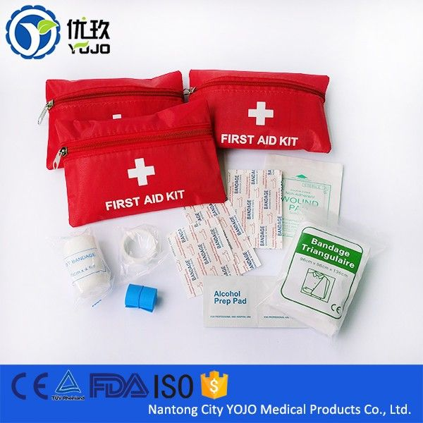 China Supplier Medical Mini Emergency First Aid Kit Bag
