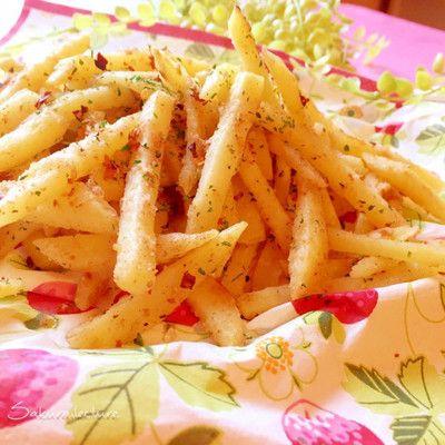 揚げない♪バジルシナモンのフライドポテト by Natural Food Creator ...