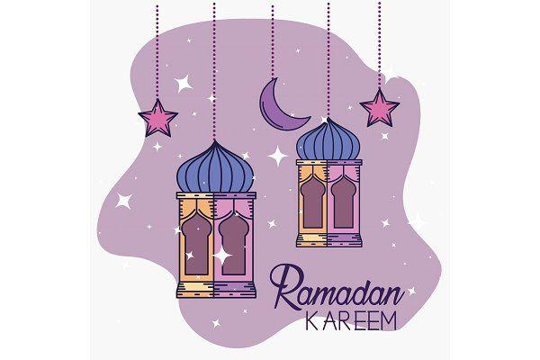 Ramadan Kareem Decoration With Lamps Ramadan Kareem Decoration Ramadan Kareem Ramadan