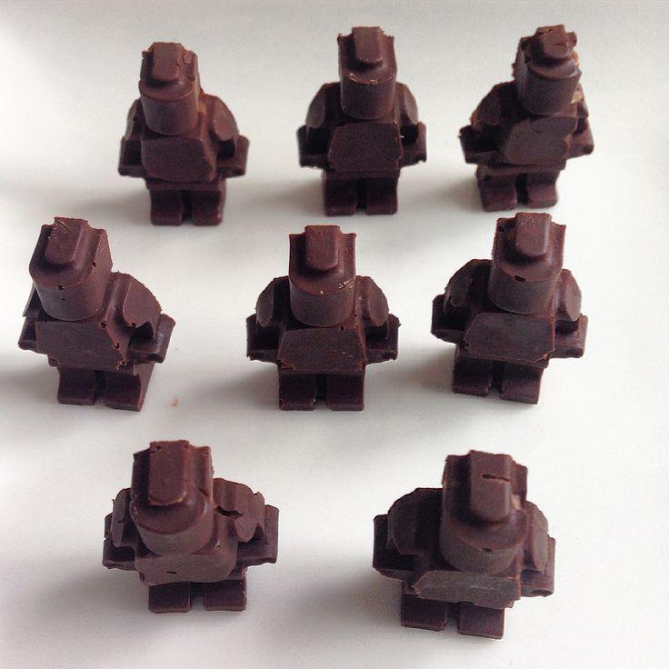Lego Robot chocolate