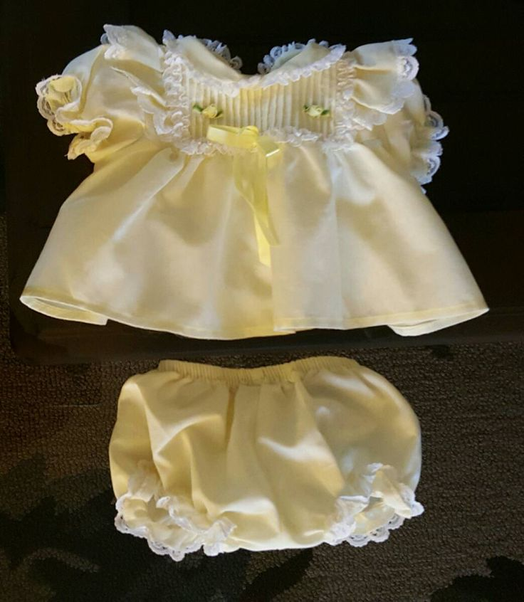 Baby Girl Smocked Easter Dress Preemie by ResouledGypsy on Etsy