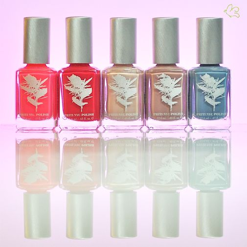 Vernis à ongles non toxiques Priti NYC: Jersey Beauty Dahlia – Love Lies Bleeding  – Mediterranean Bells (Stella McCartney) – Sweet Sultan - Moonstone Cactus  Vernis 4 free - Flacon 12,6ml - 12,50€ #vernis #ongles #pritinyc #manucure www.officina-paris.fr
