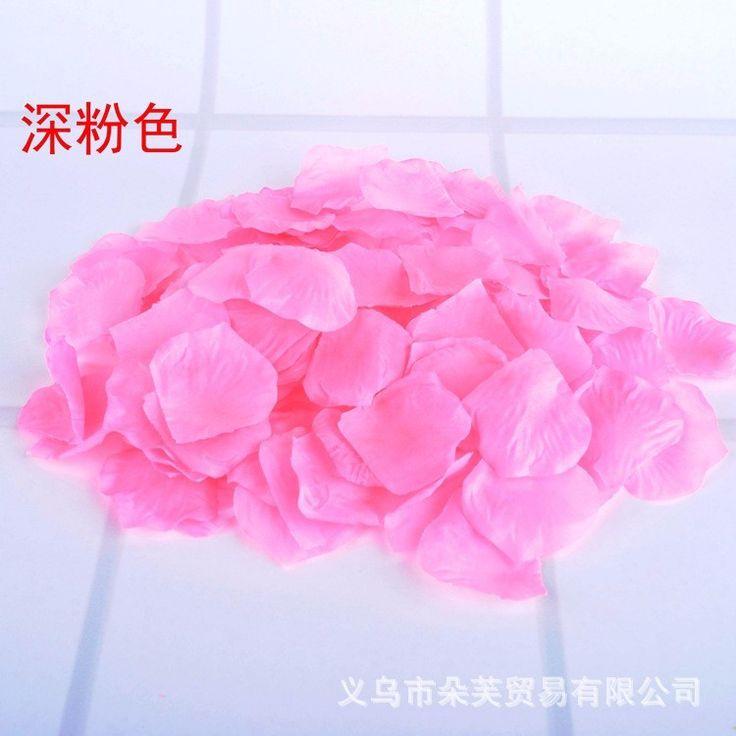1000pcs/lot Petalas De Rosas Petalas Artificiais Wholesale Wedding Accessories Rose Petals for Weddings BP01
