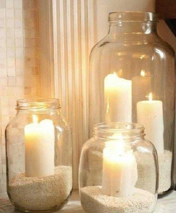 Ideas para decorar botellas y frascos de vidrio - Taringa!